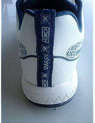 Zapatillas padel Smash (Blanco, 42)