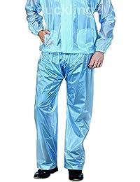 ducklingz bikers blue raincoats for heavy rain made of best quality PVC rainwear jacket and pant super soft durable elegant blue semi transparent comfortable rain suit gear