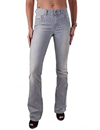DIESEL Sandy 0679k Stretch Donna Jeans Pantaloni Slim Straight