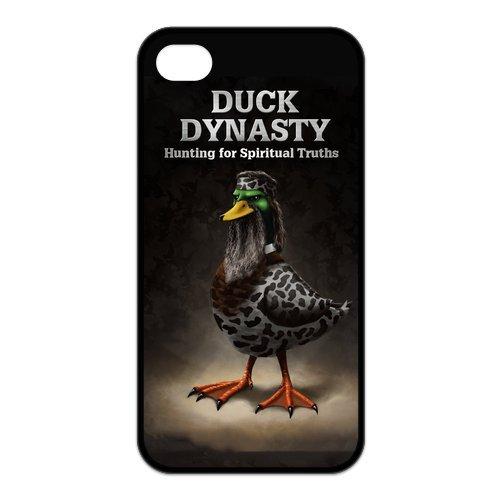 fayruz- 5S Cas, Duck Dynasty Coque en TPU en caoutchouc pour Apple iPhone 5/5S Coque rigide b-i5W14