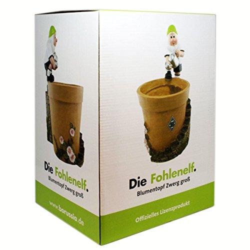 Borussia Mönchengladbach Gartenblumentopf Zwerg groß