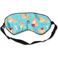 Comfortable Sleep Eyes Masks Funny Corgi Pattern Sleeping Mask For Travelling, Night Noon Nap, Mediation Or Yoga E1 preisvergleich bei billige-tabletten.eu