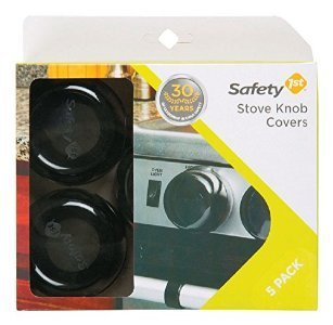 Safety 1St HS257 Stove Knob Cover - 5 Pack by Safety 1st