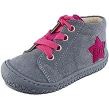 Filii-Barefoot Barfußschuh Minimalschuh Lauflernschuh grau Mädchen Halbschuh