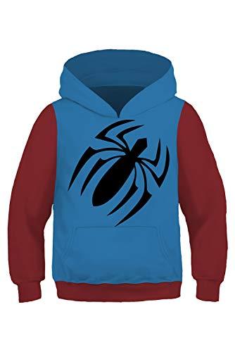RedJade Scarlet Spider Uniform Jumpsuit Overall Bodysuit Outfit Cosplay Kostüm Kinder Jungen M