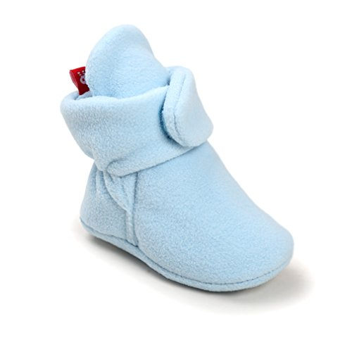 Kfnire Baby Booties, Unisex Baby Boy Girl Toddler Soft Winter Warm Fur Snow Boot