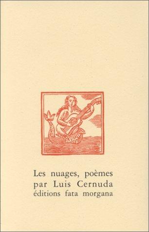 Les Nuages par Luis Cernuda (Broché)