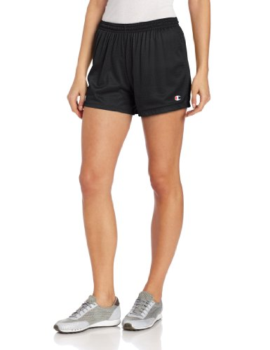 Champion Women's Mesh Short Black