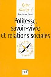 Politesse : Savoir-vivre et relations sociales