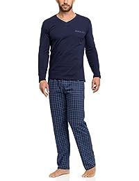 f357b2eba6 Amazon.it: Blu - Pigiami e abbigliamento da notte / Uomo: Abbigliamento