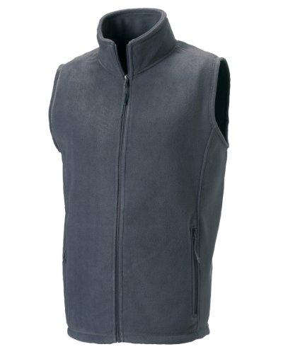 Jerzees - Manteau sans manche -  Femme Gris - Convoy Grey