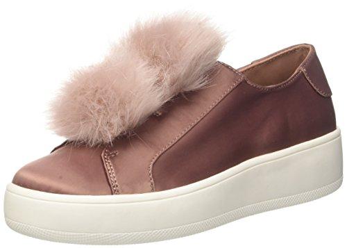 Steve Madden Damen Breeze Sneakers, Pink (Blush Satin), 39 EU (Schuhe Slip On Steve Madden)