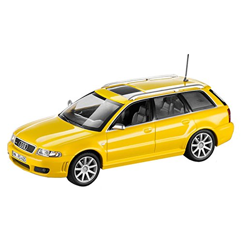 Audi 5031300213 Miniatura, 1:43 RS4 Avant B5 RS 4 Avant, Imola Yellow