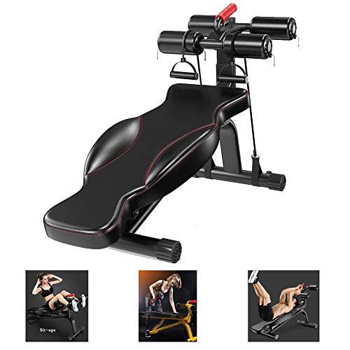 LieYuSport Banco de Musculación Multifuncional,Banco Pesas Plegable Adjustable Casa Banco de Fitness,Plano/Declinado/Inclinado/Sit...