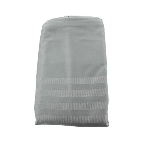 Hotel Collection Classic Stripe Jacquard Satin Pillow Sham Green Euro by Hotel Collection