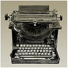 Clifford Faust – Máquina de escribir Vintage Artistica di Stampa (27,94 x 22,86 cm)