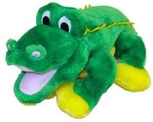 Kyjen Puzzle Plush Egg Babies Alligator Dog Toy