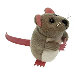 The Puppet Company - Finger Puppets - Grey Mouse
