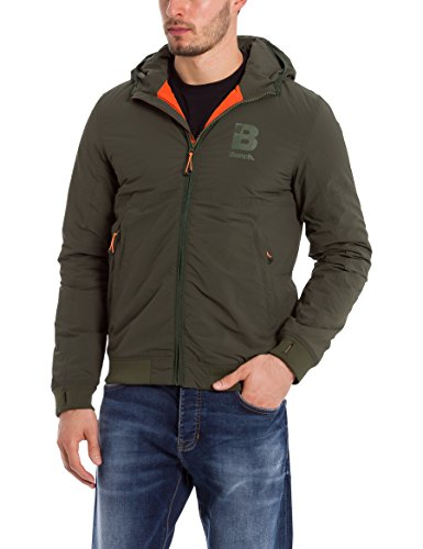 Bench Herren Bomberjacke Core Bomber, Schwarz (Black Beauty BK11179), Small