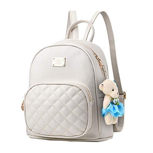 Mini Babala School Taschen Rucksack Frauen Handtaschen Reisetasche Satchel Metall Mode PU-Leder -