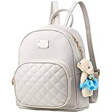 068607fedf Mini zaino in pelle PU carino casual impermeabile scuola borsa da viaggio  Daypacks piccola borsa per
