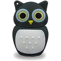 818-TEch No13700080008 Hi-Speed 2.0 USB-Sticks 8GB Eule Vogel Uhu 3D grau