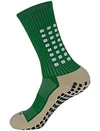 Kairuun Calcetínes Antideslizantes para Hombre y Mujer Calcetines Deportivos para Futbol Ciclismo Running Baloncesto