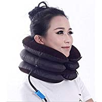 Effigy Onlinehub 3-Layers Portable Neck Pillow for Cervical SpineCervical Spine Pain Relief Massager (Free Size)