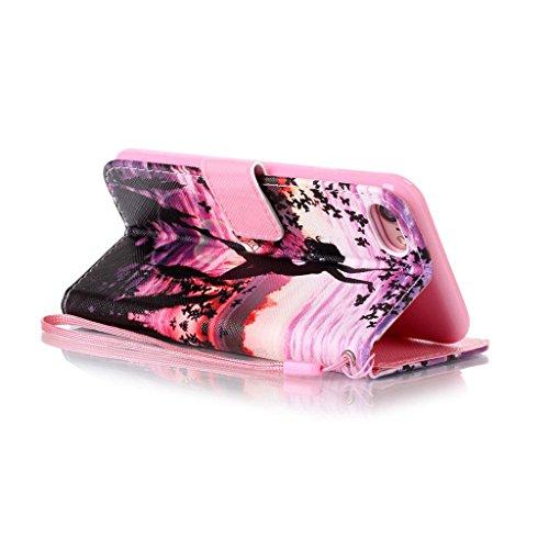 """iPhone 7 Coque, Mythollogy - Housse en Cuir PU Case Étui à rabat Portefeuille Coque de Protection avce Support Antichoc Coque Case Cover pour iPhone 7 (4.7"""") - HDGN HDGN"""
