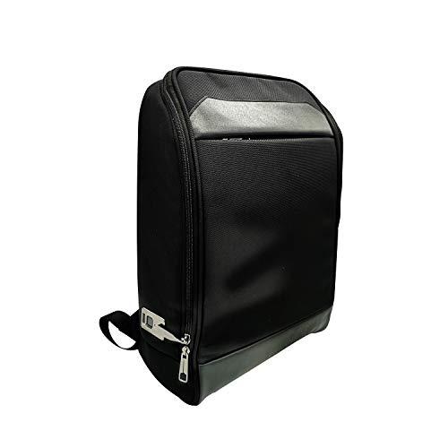 Desbloquear la huella digital Mochila bolsa con la cerradura antirrobo Bolsa USB recargable Lightwight...