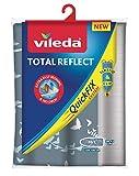 Vileda Total Reflect - Funda de planchar, metálica: refleja el vapor sobre la ropa; para un planchado extra...