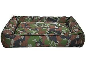 Panier corbeille Panay pour chien XL 120cm/95cm camouflage W070 06