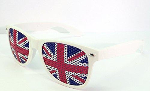 Sonnenbrille World Cup Fußball St. George 's Day Gläser Neuheit Fancy Kleid Patriotische Flagge Merchandise