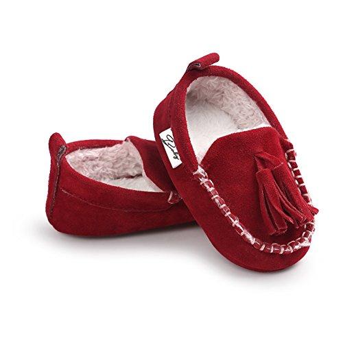 Leap Frog  Classic Sneaker,  Baby Mädchen Klassische Sneaker Rot