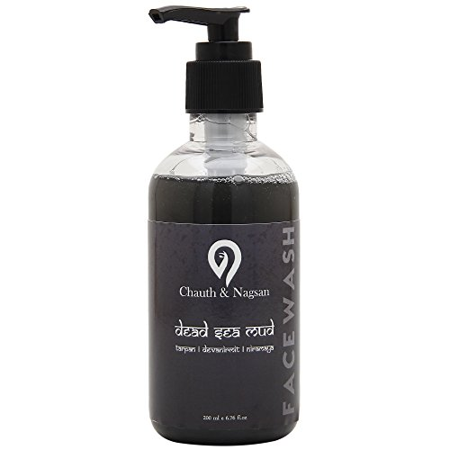 Chauth and Nagsan Natural Dead Sea Mud Face Wash for Oil Control for Men and Women-200 ml