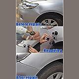 SODIAL Herramientas de Eliminacion Reparacion sin pintura Aparece un puente tirando de abolladura para el coche Juego de herramientas Instrumentos Herramienta de mano DIY