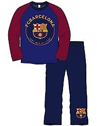 d43b80001 Boys F.C Barcelona Football Spanish Long 100% Cotton Pyjamas Set Blue