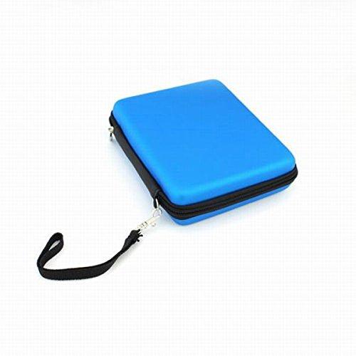 Sac Pochette De Transport Coque Etui de Protection pour Nintendo 2DS Bleu