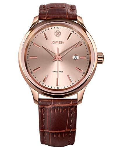 Jowissa Tiro Swiss J4.351.L - Reloj de Pulsera para Hombre, Color Rosa y marrón