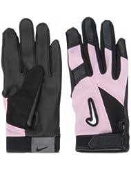 Nike gb0304Diamond Elite Edge Batting Handschuhe–Tee Ball, Schwarz/Pink