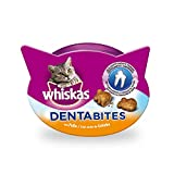 Whiskas Dentabites Katzensnack Huhn, 8 Packungen (8 x 40 g)