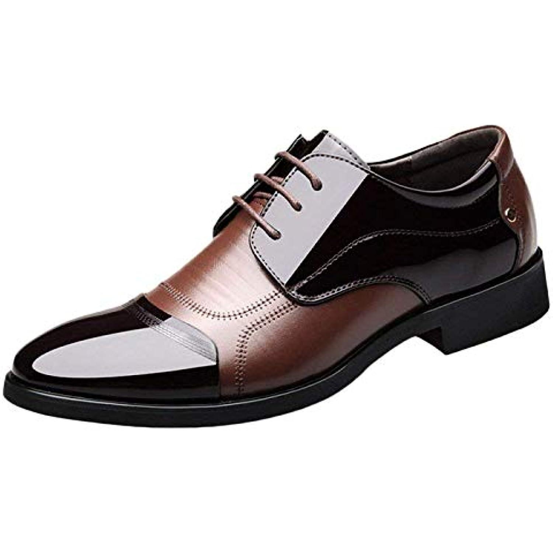 Eeayyygch Nouveau Chaussures Casual Hommes des Automne Angleterre Cuir Chaussures d'affaires avec des Hommes Chaussures de... - B07JVLR2NQ - 8333a7