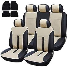 Opel Mokka Grau Universal Sitzbezüge Sitzbezug Auto Schonbezüge MODERN