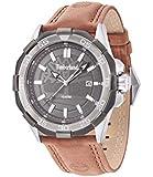Timberland - 14098JSTU/61 - Montre Homme - Quartz - Analogique - Bracelet Cuir marron