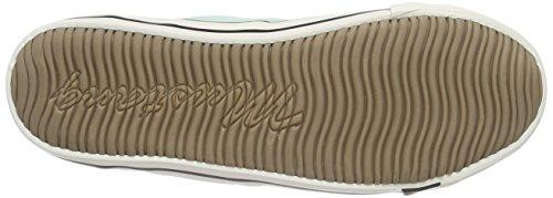 Mustang1099-302 - Scarpe da Ginnastica Basse Donna Verde (Grün (702 lindgrün))