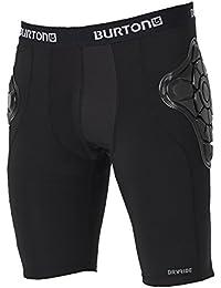 Burton MB Total IMP Short Equipo de Protección, Hombre, Negro (True Black), L