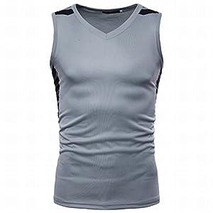 NBX Weste männlichen Frühling und Sommer europäischen und Amerikanischen Stil Druck ärmellose Ärmel T-Shirt schnell Trocknende Weste Männer