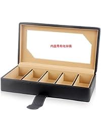 Sharplace 8 Slot Porte-Lunettes Lunettes de Soleil Souport Boîte avec Spectacle Lien Strap Loop Ends Cadeau x46WM