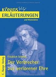 Königs Erläuterungen und Materialien, Bd.469, Verbrecher aus verlorener Ehre