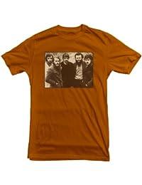 The Band T-shirt Bob Dylan Last Waltz Neil Young Big Pink Brown Album